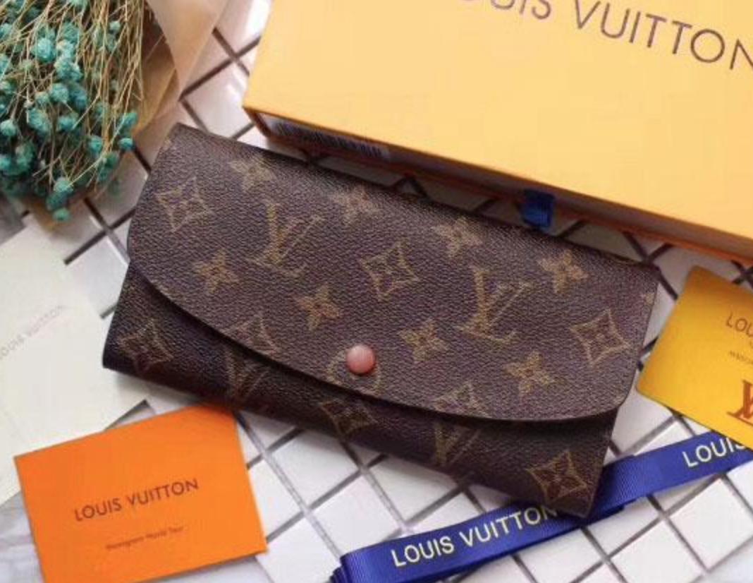 Женский кошелек Louis Vuitton (60136) brown