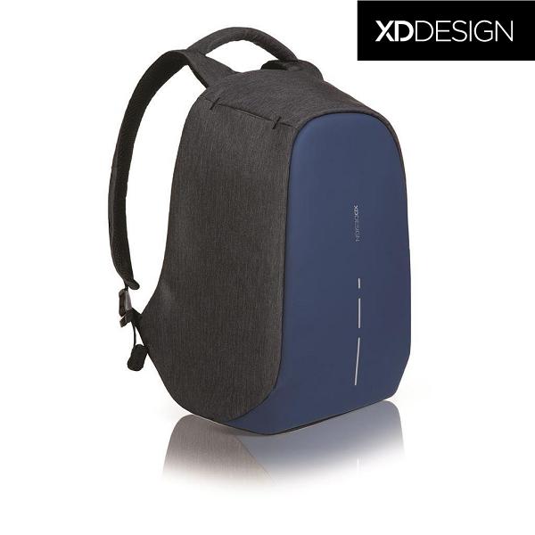 f4bc4721e74b Оригинал! Гарантия 2 года. Антивор рюкзак для ноутбука XD Design Bobby  Compact Diver Blue 14