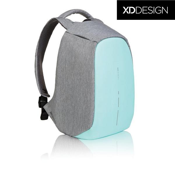 4568badaa374 Оригинал! Гарантия 2 года. Антивор рюкзак для ноутбука XD Design Bobby  Compact Mint Green 14