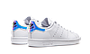 Женские кроссовки Adidas Stan Smith White Metallic Silver-Sld AQ6272, Адидас Стен Смит, фото 4
