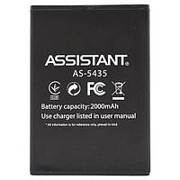Аккумулятор Assistant AS-5435. Батарея Assistant AS-5435 (2000 mAh) для AS-5435 Shine. Original АКБ (новая)