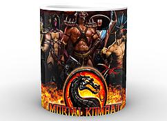 Кружка GeekLand Mortal Kombat Мортал Комбат воины MK.02.04