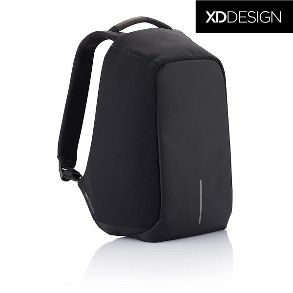 eb58b3aa6d9a Оригинал! Гарантия 2 года. Антивор рюкзак XD Design Bobby XL anti-theft  backpack 17″/Black (P705.561), черный