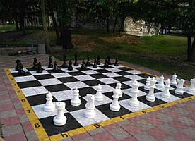 Большие садовые шахматы сш-25. Король 635мм. Ударопрочный пластик.