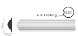 Молдинг для стен, гладкий, Classic Home HM-42040 , лепной декор из полиуретана, фото 2