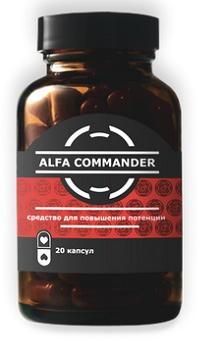Alfa Commander (Альфа Командер) − капсули для потенції