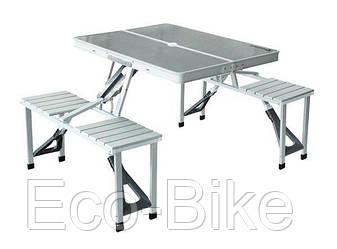 Складной алюминиевый стол для пикника со стульями №174