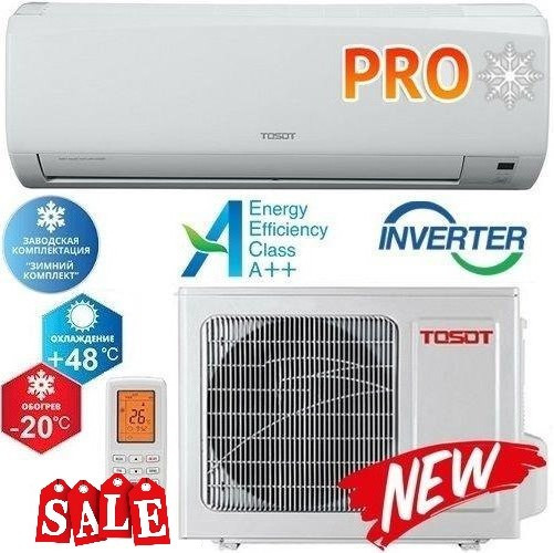 Кондиционер- Tosot North PRO Inverter (-20°C) GK-09NPR