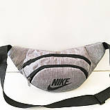 Спортивные сумки на пояс Nike текстиль (черный)14*36см , фото 4