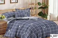 Семейный набор постельного белья с геометрическим рисунком