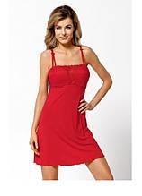 Сорочка жіноча червона OTYLIA арт 1117 Nipplex S M L