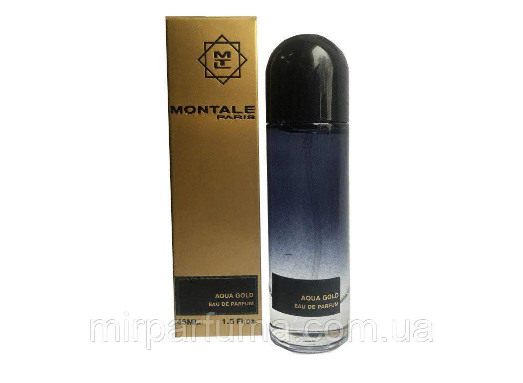 Парфюмерия унисекс Монталь Montale Aqua Gold edp 45ml