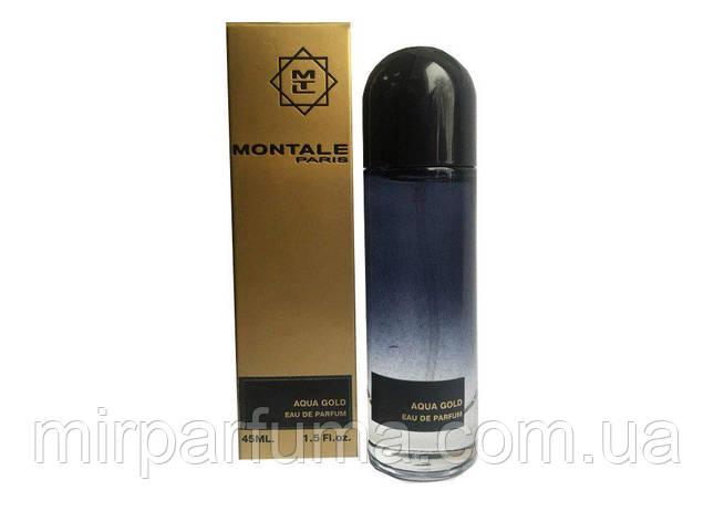 Парфюмерия унисекс Монталь Montale Aqua Gold edp 45ml, фото 2