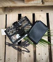 Прозрачная сумка силиконовая кросс-боди через плечо черная