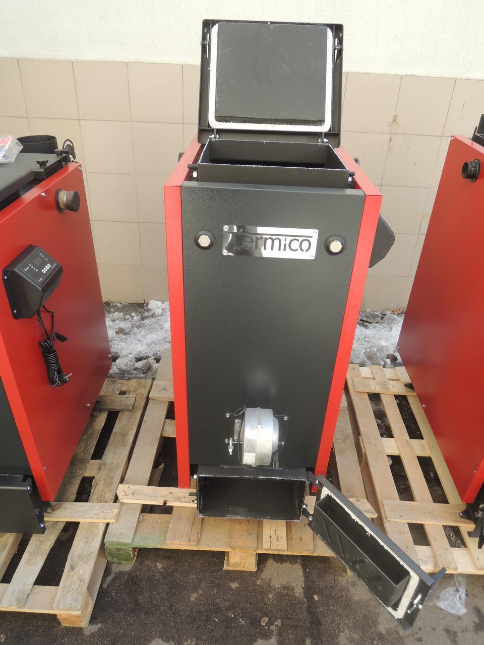 Котел Холмова Премиум на электронном или механическом управлении Termico КДГ 16 кВт Сталь 5мм!!!