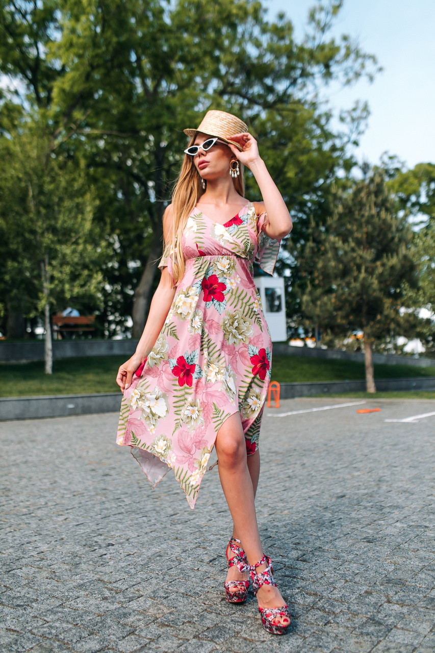 Женское летнее платье.Размеры:42-46.+Цвета.
