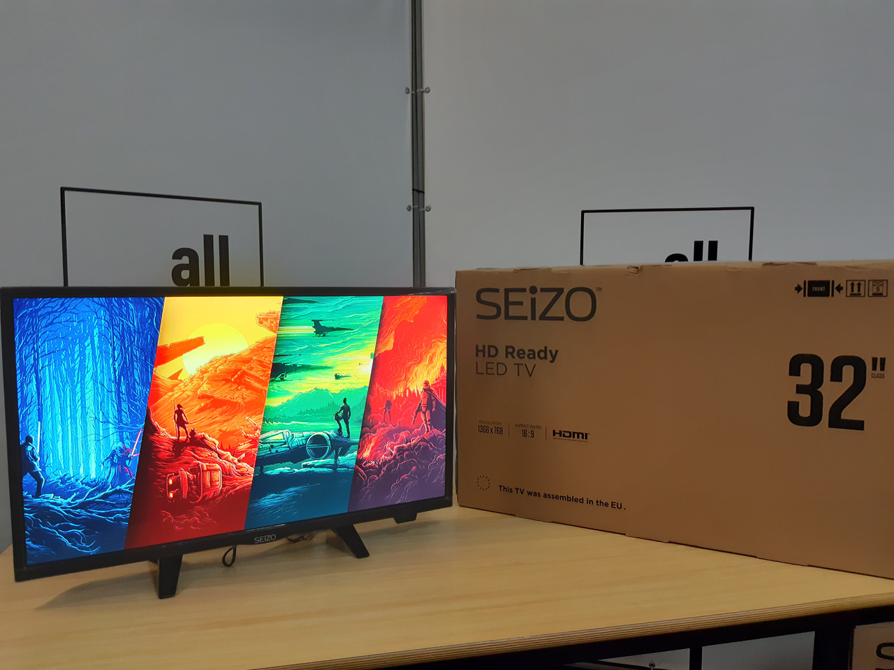 Телевізор Siezo HD Ready Led TV 32