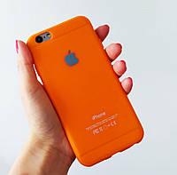 """Силиконовый чехол """"Creative"""" для iPhone 6S/6, оранжевый"""