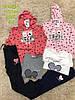 Трикотажный костюм 3 в 1 для девочек, S&D, 116-146  pp,  № CH-5824