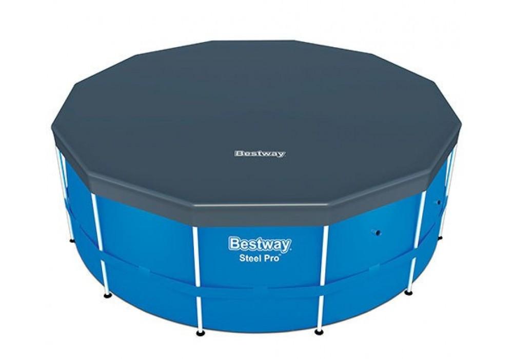 Тент для каркасного басейну діаметром 366 см BestWay 58037