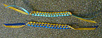 Браслет плетеный Украина