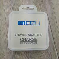 Зарядное устройство Meizu Travel adapter to A cable для быстрой зарядки телефона реплика, белый