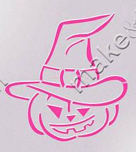 Трафарет + формочка-вырубка для пряников Набор Хэллоуин №3 - Тыква