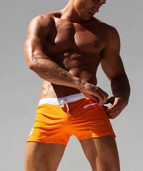 Сексуальные оранжевые плавки AQUX - №1113, фото 2