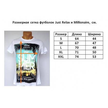 Мужская футболка Just Relax - №1393, фото 2