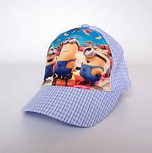 Детская летняя кепка Minions - №1522