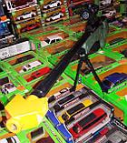 Детская снайперская винтовка 608 A аккумулятор 97см, очки, гелевые пули, фото 6