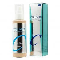 Корейский тональный крем с коллагеном - оттенок 21 - бежевый /Enough Collagen Moisture Foundation SPF 21/ Коре
