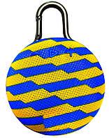 Портативная Bluetooth колонка SPS CLIP3, сине желтая