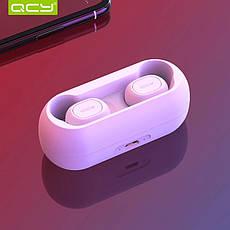Бездротові навушники (гарнітура) QCY QS1 White, фото 3