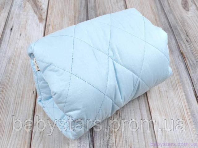 Подушка для кормления малыша на руку, голубая