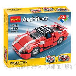 Конструктор Decool Architect 3110 23 в 1 Original