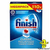 Таблетки до посудомийної машини Finish Classic 110 таблеток  - CM01034