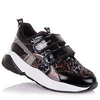 Лаковые кроссовки из нубука и кожи в школу для девочек Tirenti 15.2.92 (26-36)
