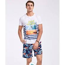 Мужские шорты с цветами Gailang - №2217