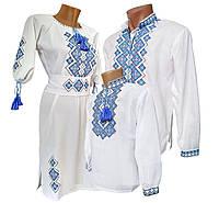 Вышиванки для всей семьи, платье вышивка