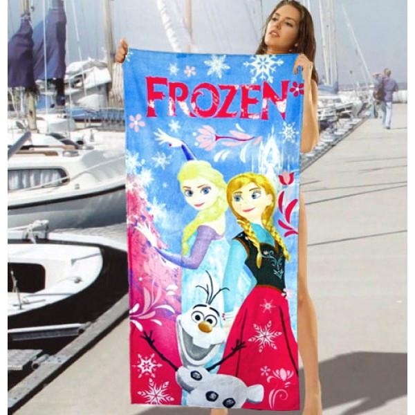 Детское пляжное полотенце Frozen - №2475