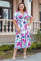 Красивое платье большего размера 48-74
