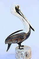 Пеликан декоративный,цветной,высота 60см