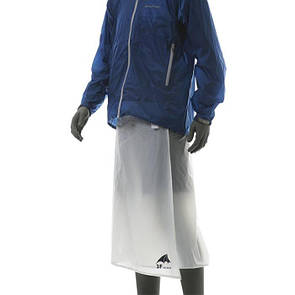 Туристическая накидка на ноги от дождя (юбка) 3F UL GEAR, Плащ-дождевик. Материал 15D нейлон белый.