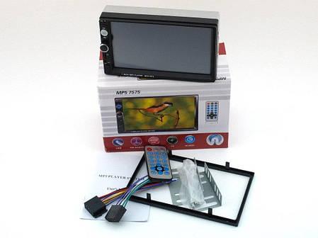Автомобильная магнитола с сенсорным экраном 7 7575 MP5, фото 2