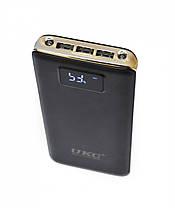 Портативное зарядное устройство Power Bank Ukc c Lcd дисплеем 20 000 мАч, фото 3
