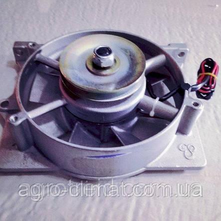 Вентилятор в сборе (с генератором) двигателя R175 R180, фото 2