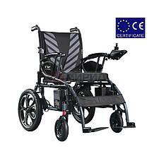 Складная электроколяска DYL 6023. Инвалидная коляска. Кресло для инвалида. Кресло коляска.
