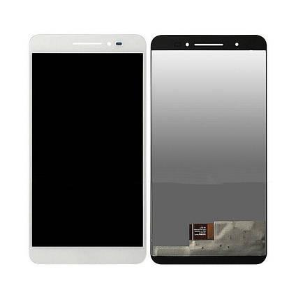 Дисплей (экран) для Asus ZenFone Go (ZB690KG)/Z171KG ZenPad C 7.0 с сенсором (тачскрином) белый, фото 2