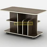 Журнальный стол на колесиках БАВАРИЯ (90 см)